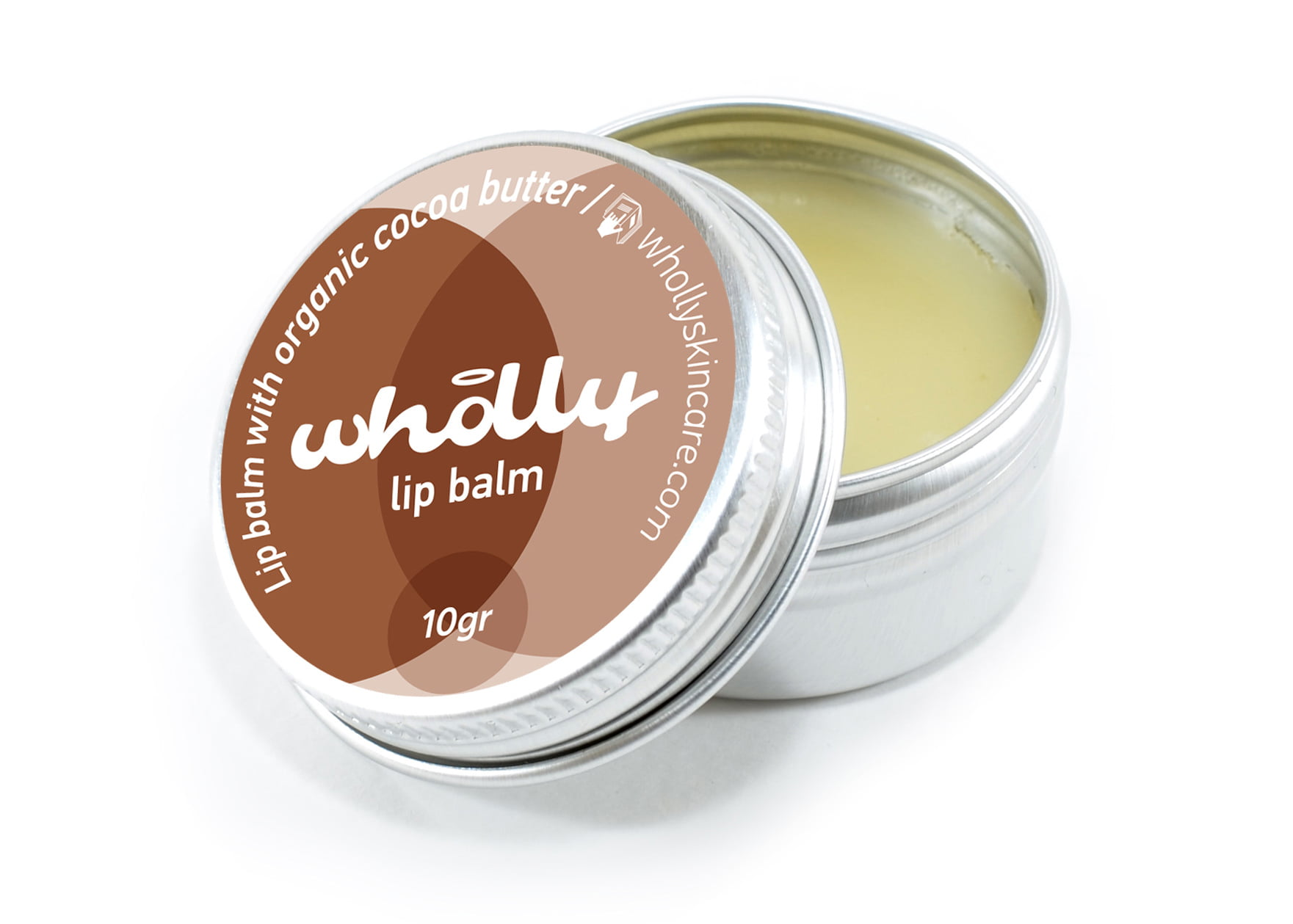 Wholly Lip Balm with Organic Cocoa Butter