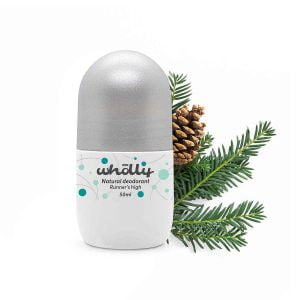 Wholly Skincare Natural Deodorant Runner's High