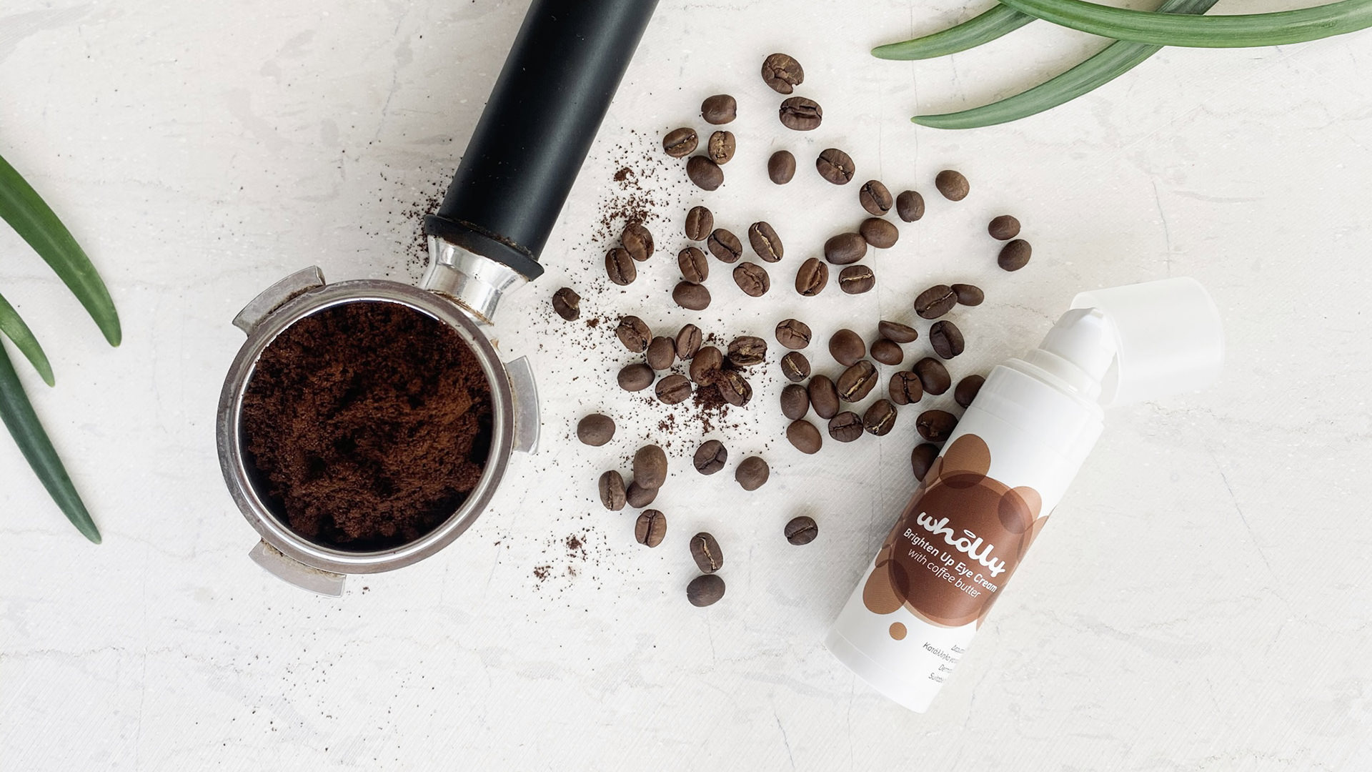 Brighten Up Eye Cream with Coffee Beans