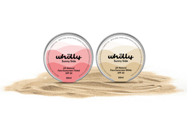 Sunny Side All-natural Face Sunscreen SPF 30 Set