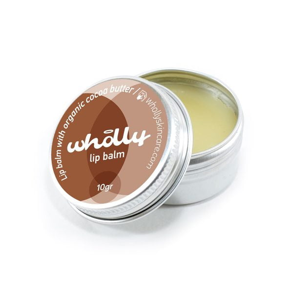Wholly Skincare Lip Balm with Organic Cocoa Butter