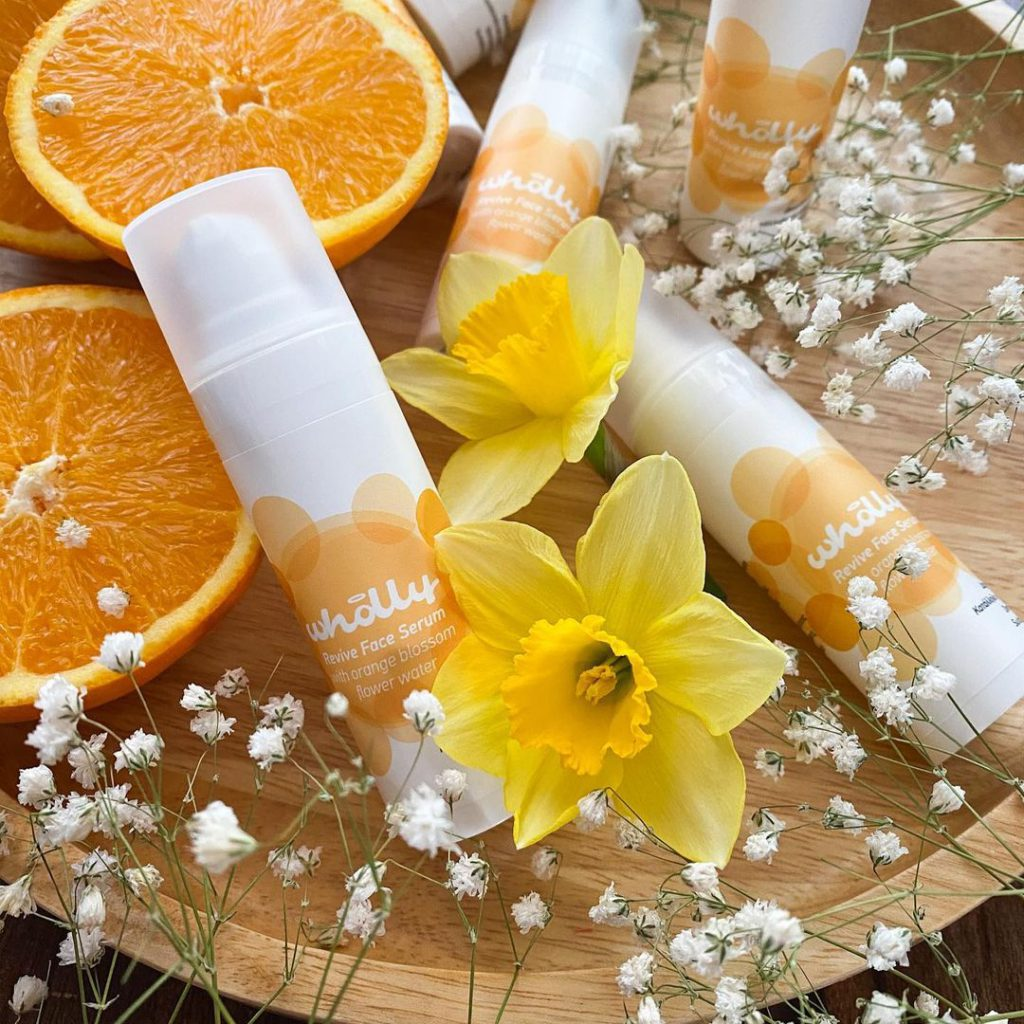 Revive Face Serum with Orange Blossom Flower Water