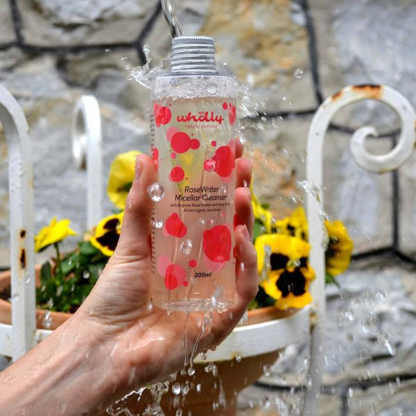 RoseWater Micellar Cleanser