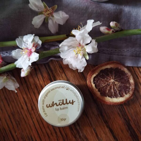 Wholly Lip Balm with Organic Coconut Oil