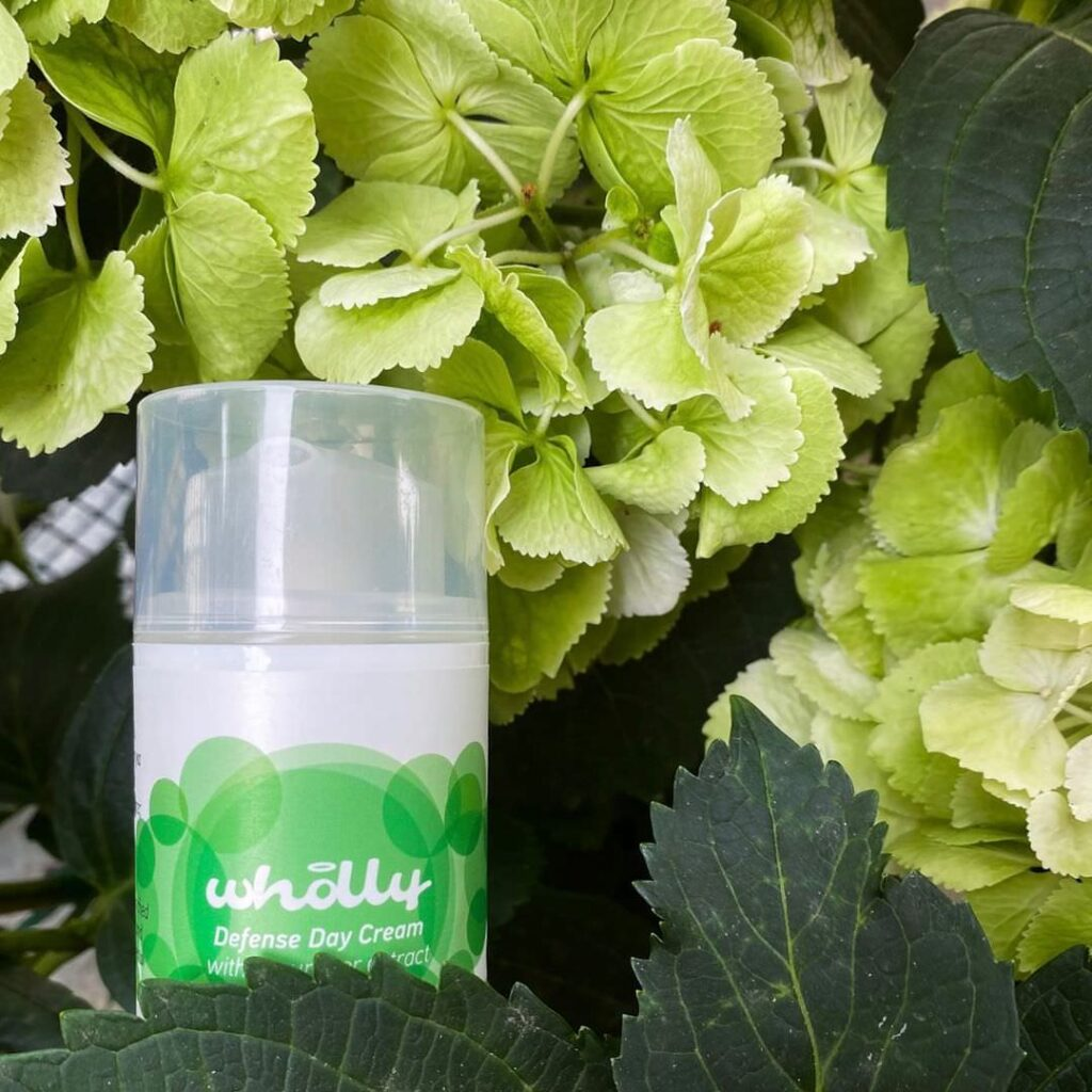 Wholly Skincare Defense Day Cream with Cucumber Extract